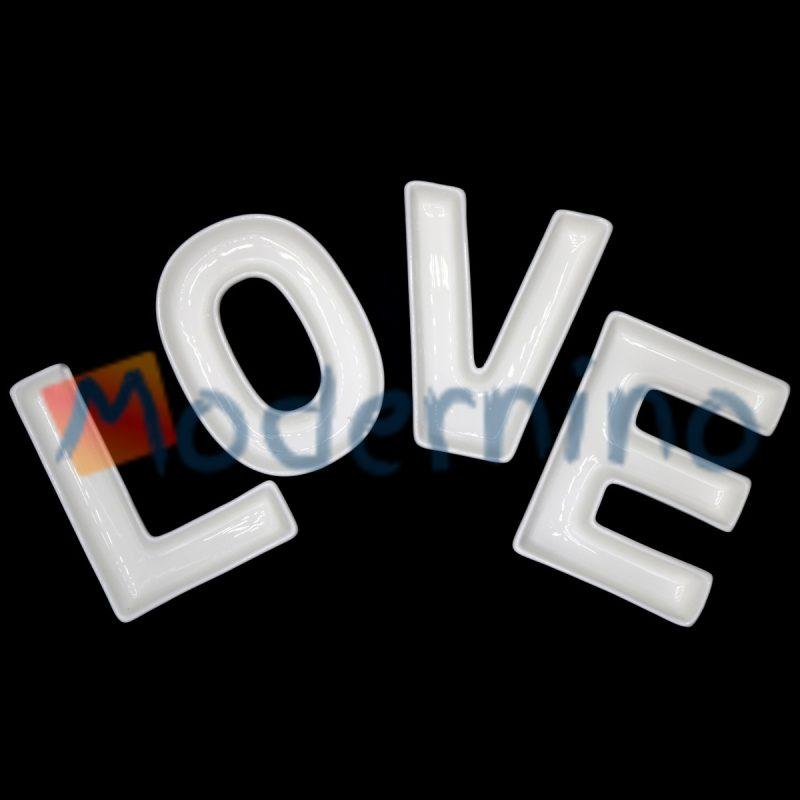 اردور خوری سرامیکی طرح love