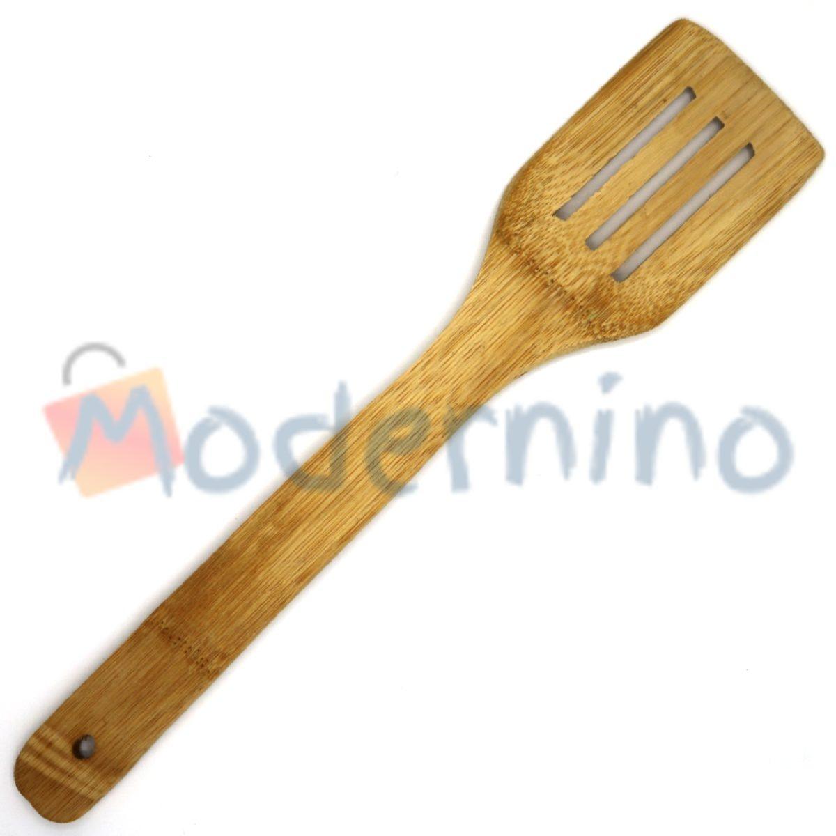 کفگیر چوبی شیاردار