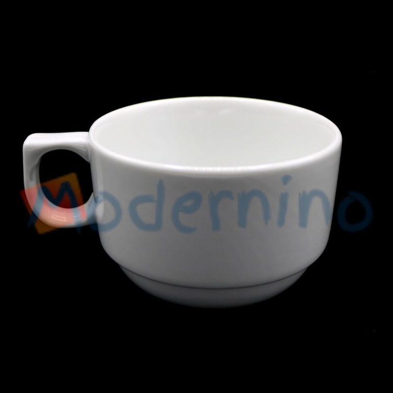 فنجان چینی سفید سایز ۶