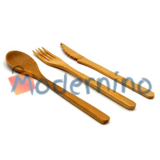 ست قاشق، چنگال و کارد بامبو Bubambu