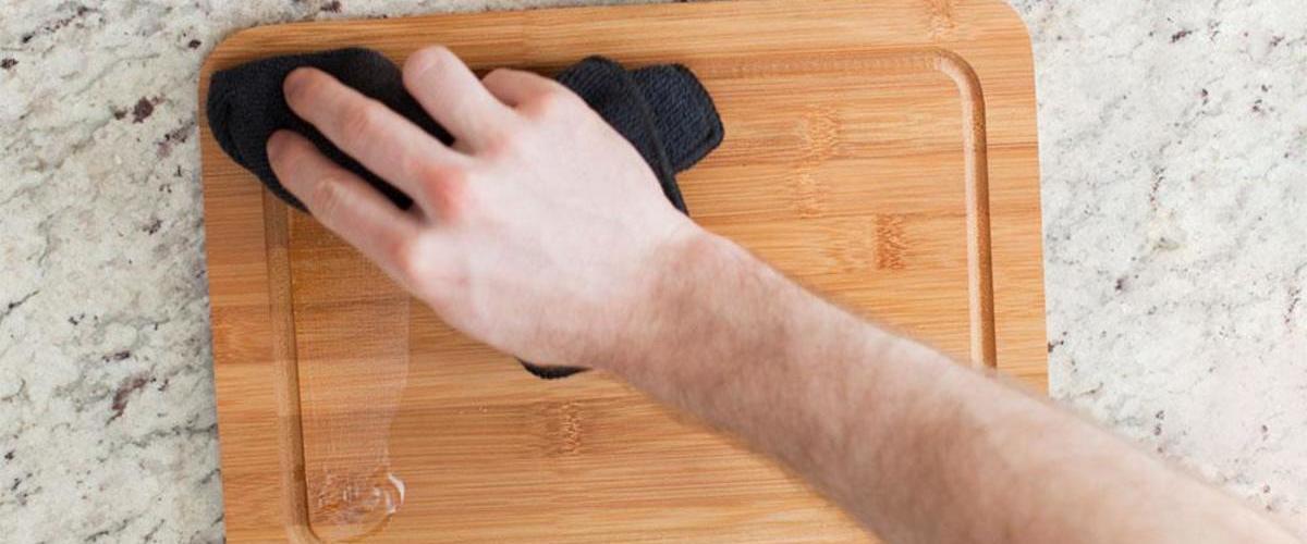 روغن کاری ظروف بامبو