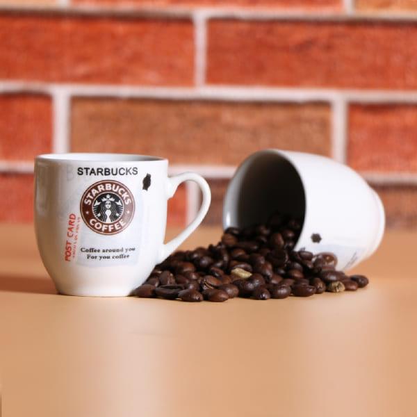 ست فنجان قهوه خوری استارباکس 2 عددی