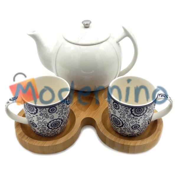 ست چای خوری بامبو سرامیک 2 نفره مدل Venus